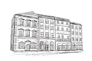 Doodles House Sketch