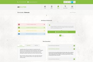 Absolution HTML5 Website Template