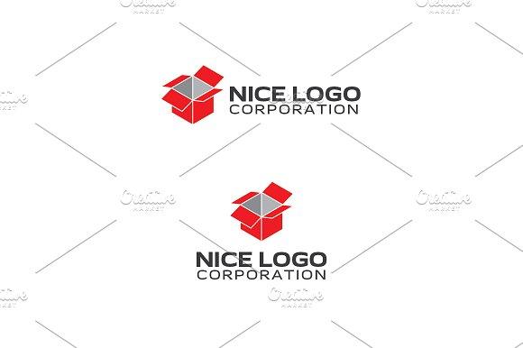 isometric box logo