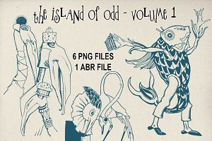 The Island of Odd - PNG and ABR set