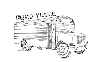 Food Truck. Delivery Service