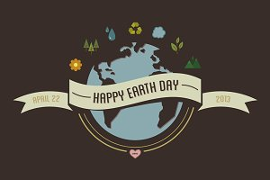 Things for Earth Day - 10 Vectors