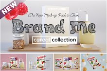 Brand Me - Cereal Mock-up Collection