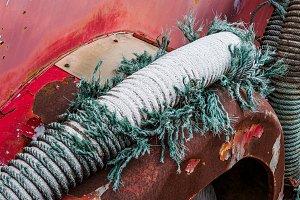 Damaged suction hose