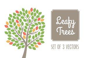 Leafy Trees Vector