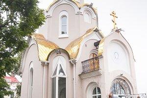 Ortodox church in Vladivostok