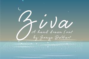 Ziva A Hand Drawn Font