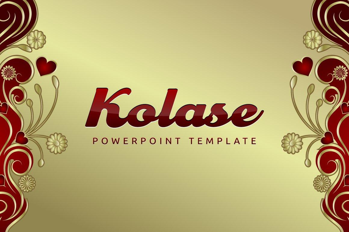 Kolase Powerpoint Template Presentation Templates Creative Market