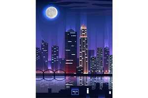 Night City. Megapolis