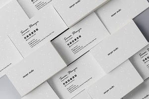 Elegant minimal business card #47