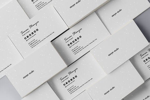 Elegant minimal business card 47 business card templates elegant minimal business card 47 business cards fbccfo Gallery