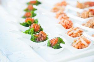 red caviar close-up