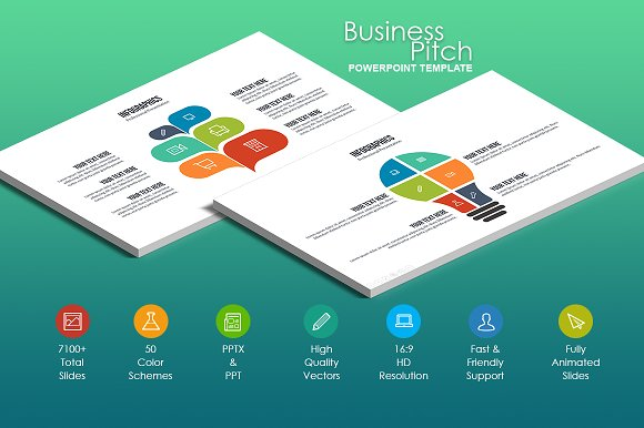 Business pitch powerpoint template presentation templates business pitch powerpoint template presentation templates creative market wajeb