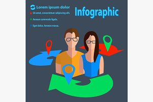 Business communication infographics