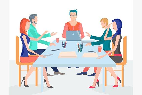 illustration conference business