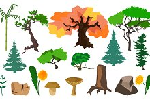 Set plants trees