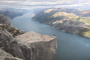 Preikestolen, Norway.