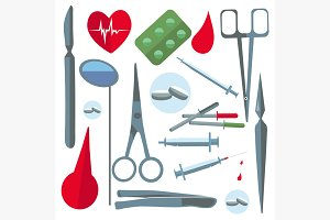 Set isolated medical items