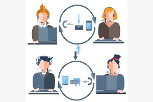 People call center
