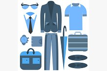 Mens business clothing
