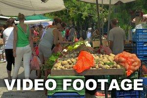 Street Greengrocery Market