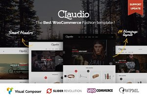 WordPress eCommerce Themes: ThemeAlien - Claudio - Modern Ecommerce Theme