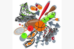 Sporting goods basketball