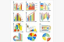 Infographics set elements