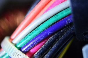 Colourful cable