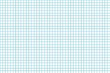 Five millimeters cyan grid on a4
