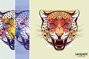 Leopard | vector print