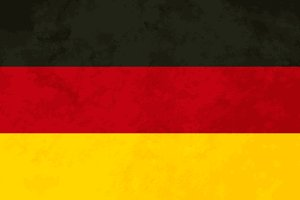 True proportions Germany flag