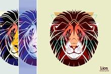 Lion | vector print