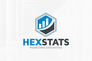 Hex Stats Logo Template