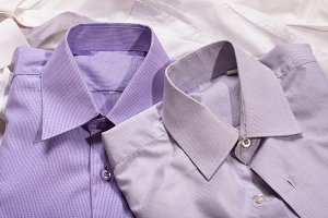 two generic shirt with line pattern
