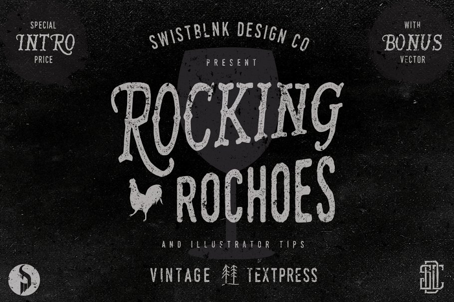 Rocking Rochoes Typeface ~ Display Fonts ~ Creative Market