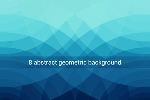 8 abstract geometric backgrounds