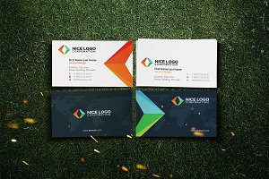 arrows business card