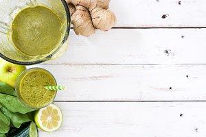 Healthy green detox