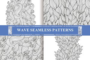 Wave Seamless Patterns