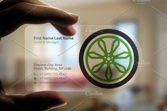 Wheel business card business card templates creative market colourmoves