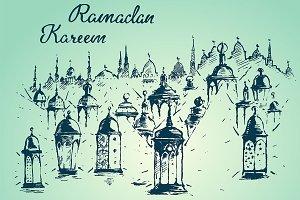 Beautiful Arabian lanterns