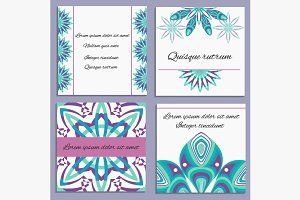 Set ornament invitation