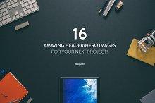 16 Hero/Header images Vol.1