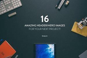 16 Hero/Header images Vol.1