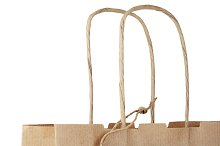 Shopping bag with tag