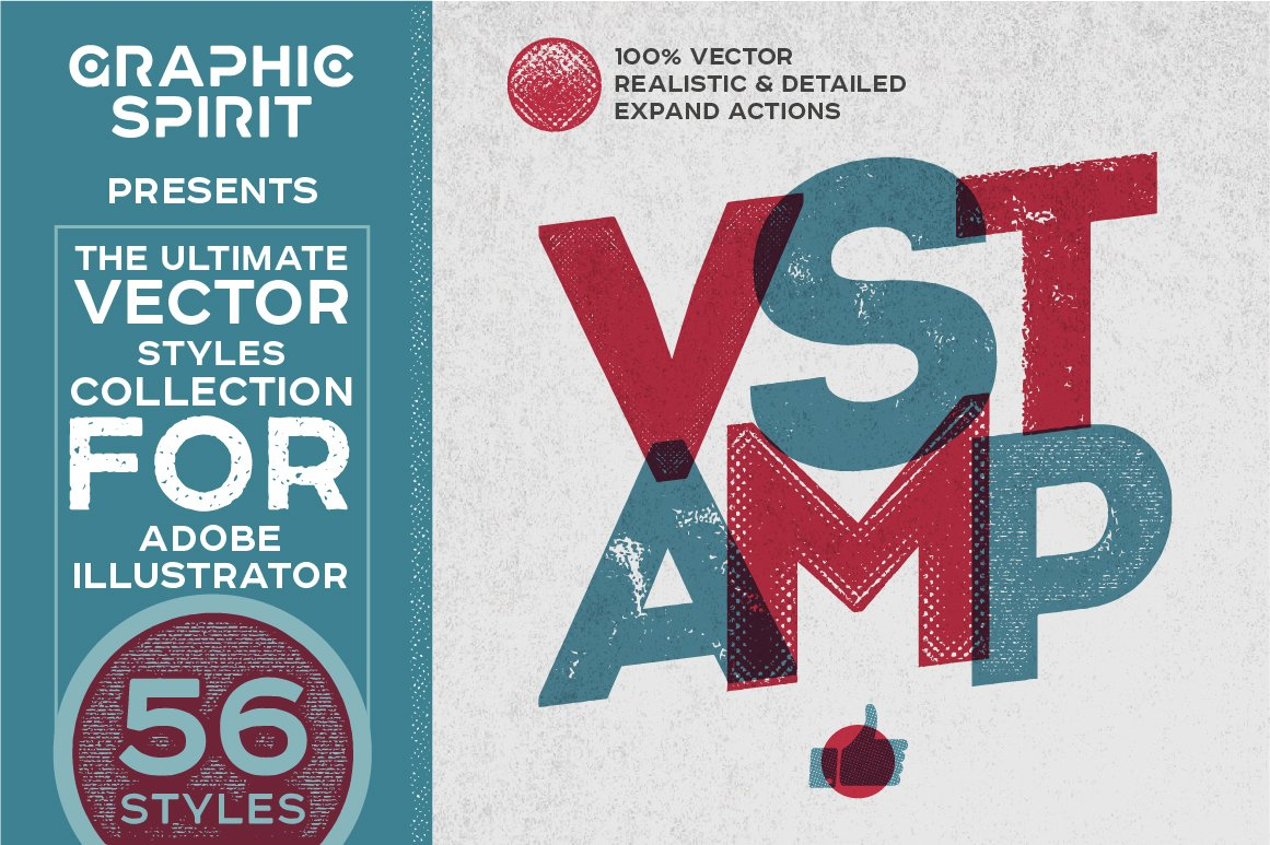 vstamp vector stamp effects styles layer styles creative market