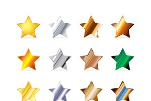Stars made of different metals