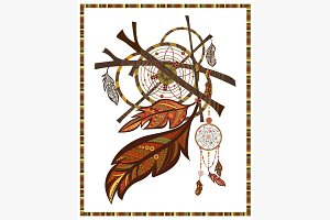 Elements ethnic style Dreamcatcher
