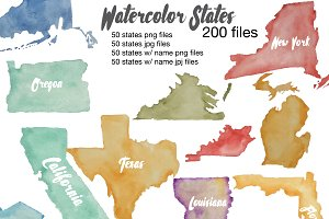 Watercolor States